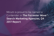 Independent Research Firm Names Mirum a 'Contender' in 2017 Report for Search Marketing Agencies
