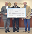 AACUC Chairman Anderson Receives $40,000 Check From United States Senate FCU