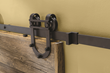 Rockler's I-Semble Rolling Door Hardware features sealed ball bearings for glassy-smooth rolling action.