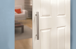 With the new hardware, Rockler also is offering several matching door handles.