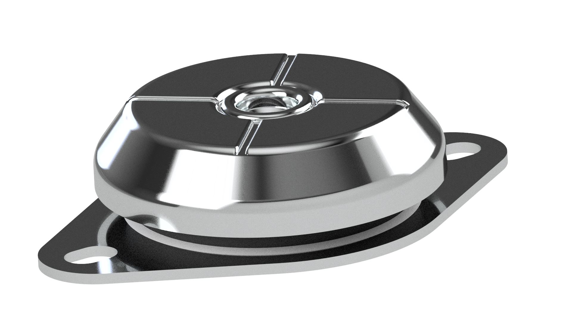 New High Deflection Isolation Mounts for Low Frequency ...