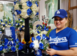 CFM Petalers Prep Dodgers World Series Victory Flowers