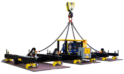 Custom Magnetic Lifter Designed by Industrial Magnetics, Inc.