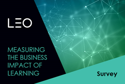 The LEO survey on measuring the business impact of learning is open for businesses to complete
