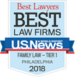 U.S. News - Best Lawyers Names Williams Family Law a 2018 'Best Law Firm'