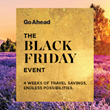 Go Ahead Tours Unveils Month-Long Black Friday Event with Best Deals of the Year