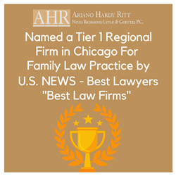 Ariano Hardy Ritt Nyuli Richmond Lytle & Goettel, P.C., Recognized for Family Law Practice