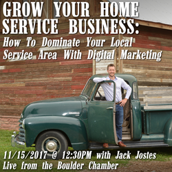 Boulder Workshop: Grow Your Home Service Business with Digital Marketing
