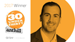 Gil Snir, CCO Bench, Wins Anthill's 2017 '30under30' Award