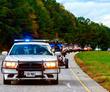 Road Warriors Receive Police Escort