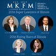 DuPage County Family Law Firm Mirabella, Kincaid, Frederick & Mirabella, LLC Receives Numerous Super Lawyers Awards