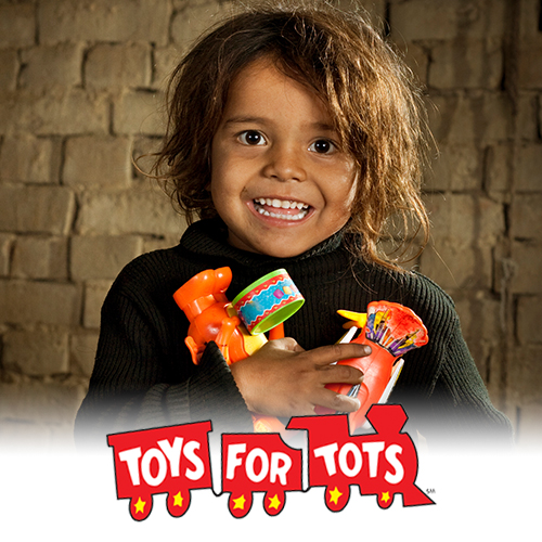 Toys For Tots Campaign : Mccullars lincoln gift a brighter holiday to local