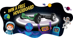 GOTRAX HOVERFLY XL AND ECO GIVEAWAY | Enter to win a free hoverboard