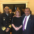 Justin Phillips, Overdose Lifeline Founder and Executive Director with Governor Christie and Surgeon General Adams