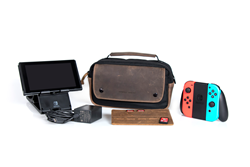 Arcade Gaming Case—with potential Nintendo Switch gear it carries