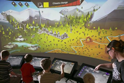 The Utah Climate Challenge game encourages collaboration amongst players