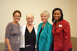 ExcEL for Women 2017 speakers and facilitators (L to R) Dr. Elizabeth Kiss, Dr. Marcia Ditmyer, Susan Hitchcock, and Dr. Felicia Tucker-Lively.