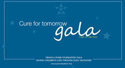 Grant-A-Starr hosts annual Cure for Tomorrow Gala to benefit research for pediatric diagnostic testing.