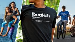 localish surf leggings men and women active apparel