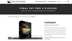ProTiltshift - Pixel Film - FCPX Effects