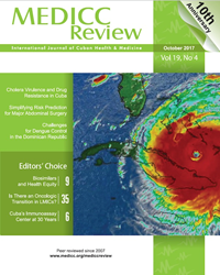 MEDICC Review October 2017 Cover