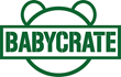 BabyCrate logo green on white