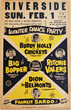 Avid Collector Announces His Search For Original Rock N Roll 1950s And 1960s Boxing Style Concert Posters
