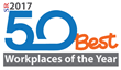 RapidScale Named Among '50 Best Workplaces of the Year 2017'