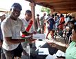Divi Little Bay Staff Receives Checks