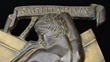 """Detail of """"Sagittarius"""" Bronze by Paul Manship, a relief from a model of his work """"Celestial Sphere."""""""