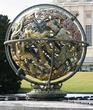 The Celestial Sphere Woodrow Wilson Memorial by Paul Manship in Geneva, Switzerland, photo from Wikimedia Commons.