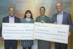 Online Learning Company Donates to Literacy Programs