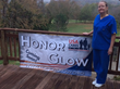 BrightStar Care's Judy Erslon Helps USA Cares Light up the Night to Honor Vets