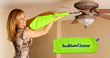 New Microfiber Solution for Cleaning Ceiling Fan Blades
