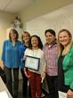 Debbie Unruh (Branch Manager), Deborah Parker (Director of Nursing), Tammara Brown (Owner), and Nominee Maria Ramirez