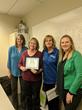 Debbie Unruh (Branch Manager), Deborah Parker (Director of Nursing), Tammara Brown (Owner), and Nominee Brenda Jones