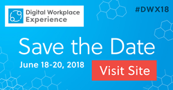 Save the Date #DWX18