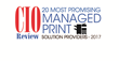 Guy Brown Named One of the 20 Most Promising Managed Print Services Companies for 2017 by CIOReview