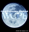 WCPE FM Great Nicknames Weekend