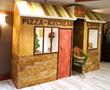 Gingerbread Town built by Chef Randy Hoppman inside Eagle Ridge Resort and Spa