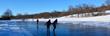 Ice skating at Eagle Ridge Resort and Spa's Nordic Center