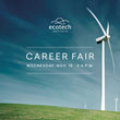 November 15: Ecotech Institute to Host Career Fair Featuring Major Energy Employers