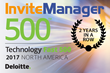 InviteManager Named One of the Fastest-Growing Companies in North America on Deloitte's 2017 Technology Fast 500™ for Second Year in a Row