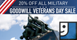 Horizon Goodwill Commits to Veterans Employment Opportunities and Services for Veterans Day Tribute