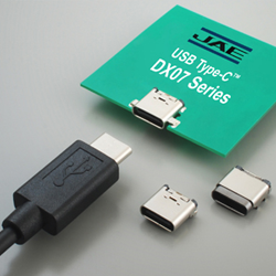 JAE DX07 Series USB Type-C Connectors