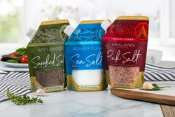 Artisan Salt Company pour spout pouches by SaltWorks