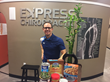 Dr. Stegall at Express Chiropractic Keller