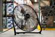 NewAir Launches New 18-inch Industrial Floor & Wall Fans - Powerful Enough to Blow a Candle Out at 51 Feet Away