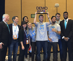 Conversica wins Mega Demo Jam at Dreamforce 17