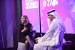 Strategic Advisor Connie Dieken with Zain Vice Chairman and Group CEO Bader Nasser Al-Kharafi